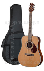 Large view Acoustic Guitar GREG BENNETT (SAMICK) D7 BEAUMONT - Dreadnought - solid cedar top