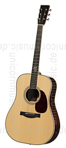 Large view Acoustic Guitar SANTA CRUZ Toni Rice (2014) - Dreadnought Model - Engelmann spruce top - all solid + hardcase