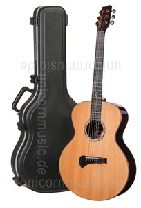 Large view Acoustic Guitar TANGLEWOOD TSR/2 - MASTERDESIGN Series - Grand Auditorium - B-Band A1.2 - all solid + Hardcase