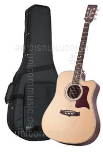 Large view Acoustic Guitar TANGLEWOOD TW15/NS CE - Sundance Series - Fishman Presys Plus EQ - Cutaway - all solid