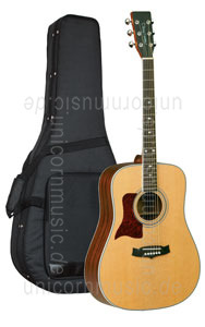 Large view Acoustic Guitar TANGLEWOOD TW15/NS LH - Sundance Series - left hand - all solid