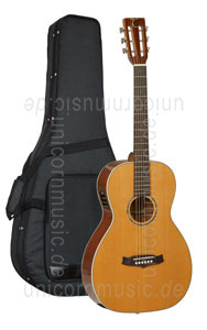 Large view Acoustic Guitar TANGLEWOOD TW73  E PRO SPEC WIDE NECK - Fishman Presys Plus EQ - Parlour Style - Sundance Series - solid top + back