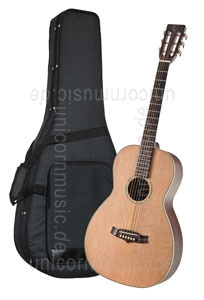 Large view Acoustic Guitar TANGLEWOOD TW73 - Parlour Style - Sundance Series - solid top + back