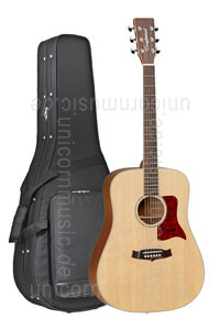 Large view Acoustic Guitar TANGLEWOOD X15 NS - Sundance Series - Dreadnought - all solid