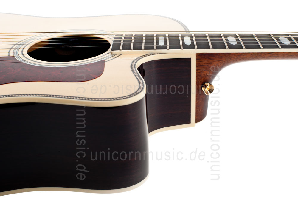 to article description / price Acoustic Guitar TANGLEWOOD TW1000/H SRC E - Heritage Series - Fishman Presys Blend - Cutaway - all solid + hardcase