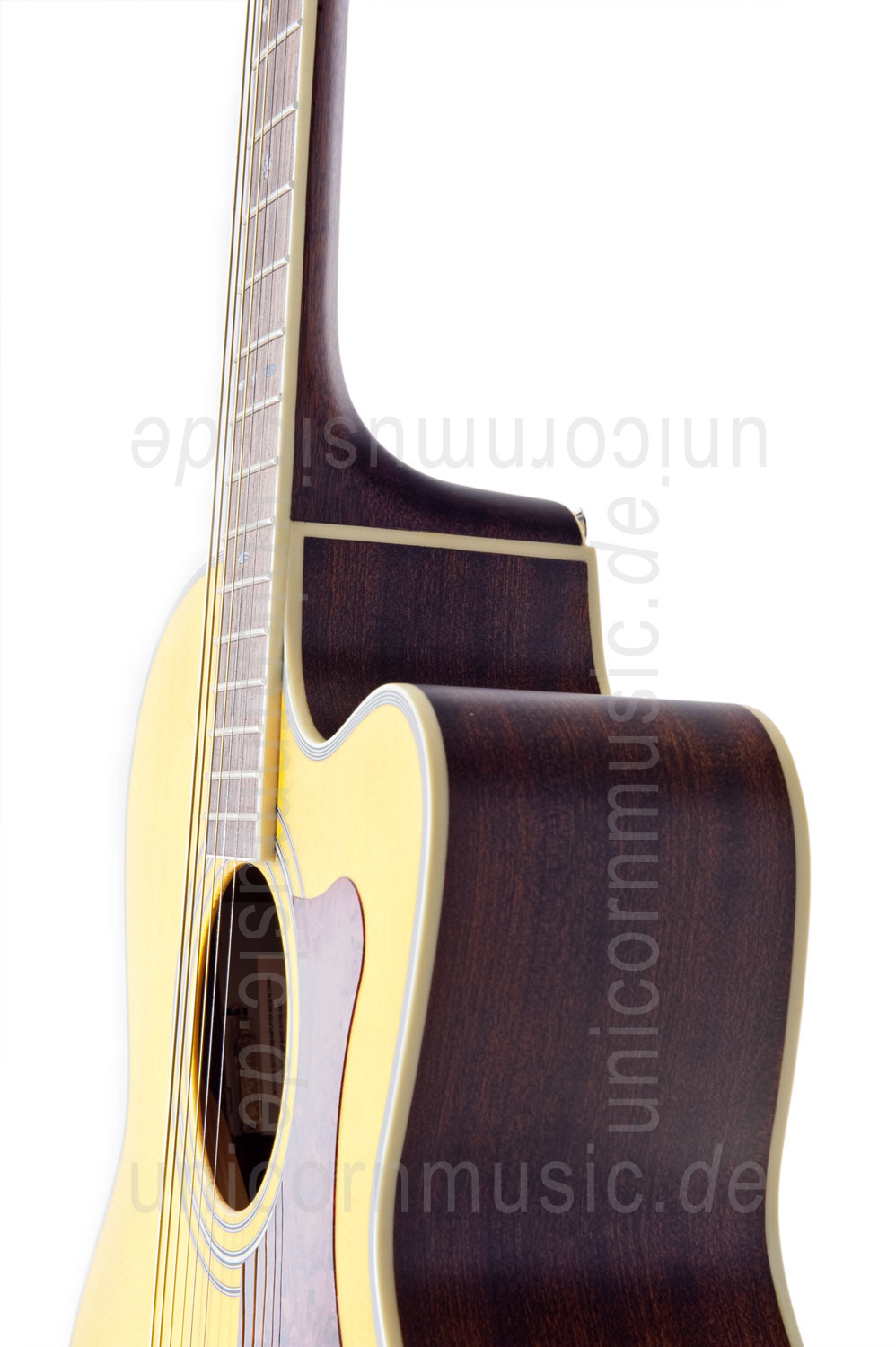 to article description / price Acoustic Guitar TANGLEWOOD TW55/NS E - Sundance Series - Fishman Presys Plus EQ - Jumbo - Cutaway - solid top + back
