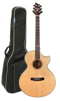 Acoustic Guitar CORT NDX Baritone - solid spruce top