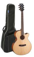 Acoustic Guitar CORT SFX E NS - Super Folk - Pickup - Cutaway - solid spruce top