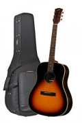 Acoustic Guitar STANFORD DEJA VU SERIES DJ45 VB - Dreadnought - solid top + back