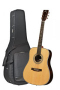 Acoustic Guitar STANFORD DEJA VU SERIES DRUNKEN DADDY 28 - Dreadnought - solid top + back