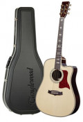 Acoustic Guitar TANGLEWOOD TW1000/H SRC E - Heritage Series - Fishman Presys Blend - Cutaway - all solid