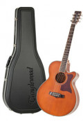 Acoustic Guitar TANGLEWOOD TW45/NS E - Sundance Series - Fishman Presys Plus EQ - Super Folk - Cutaway - solid top + back