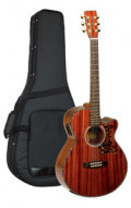 Acoustic Guitar TANGLEWOOD TW47/B - Sundance Series - Fishman Presys Plus EQ - Super Folk - Cutaway - all solid